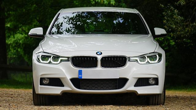 Automobile, Bmw, Bumper, Car, Headlamps, Headlights