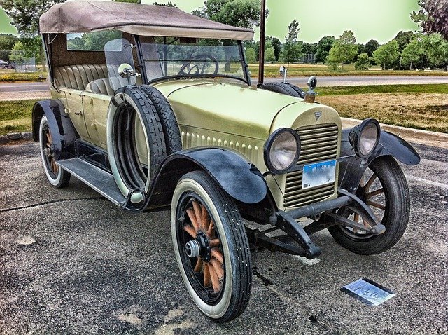 Hudson, 1921, Phaeton, Car, Auto, Automobile, Classic