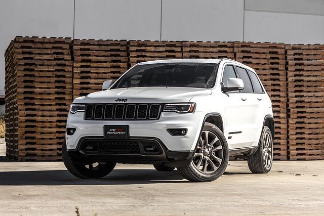 Automobile, Automotive, Car, Grand Cherokee, Jeep