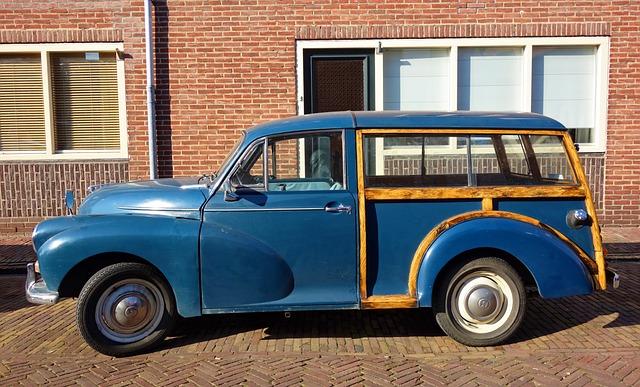 Morris Minor 1000 Traveler 1966, Morris Minor, Car