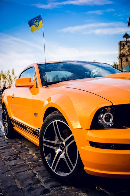 Mustang, Sports, Ukraine, Car, Ford, Ford Mustang