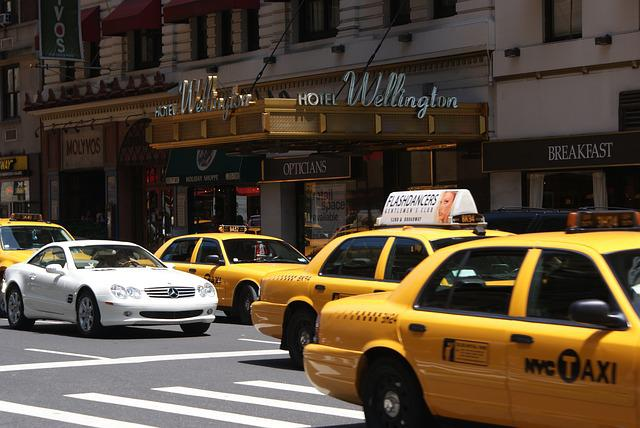 Taxi, New York, Yellow Cab, Car, Traffic, Yellow
