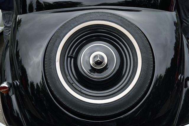 Car, Wheel, Black, Old
