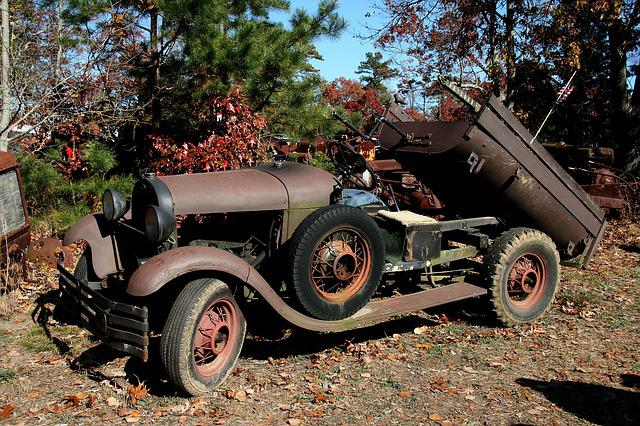 Old Car, Car, Vehicle, Antique, Rust, Abandoned, Truck