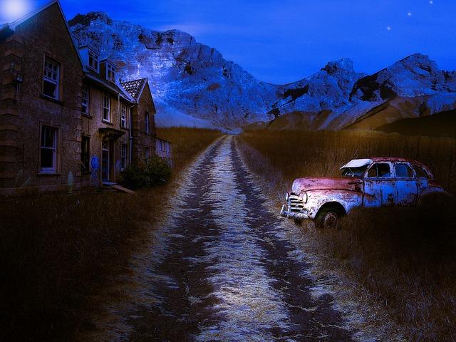 Abandonment, Old Car, Car, Old, Abandoned, Vehicle