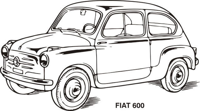 Fiat, Car, Old, Vintage, Oldtimer, Transportation