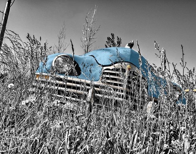 Oldtimer, Car, Vintage, Old, Headlight, Engine Hood