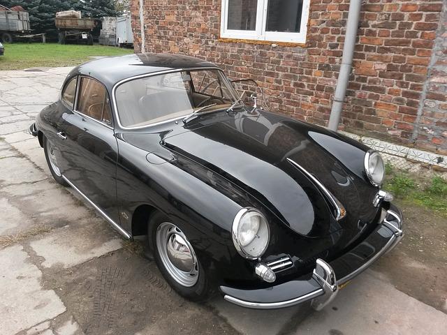 Porsche, Car, Antique
