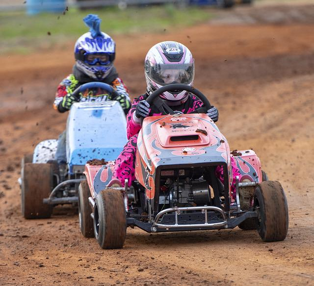 Race, Racing, Racer, Lawnmower, Sport, Car, Competition