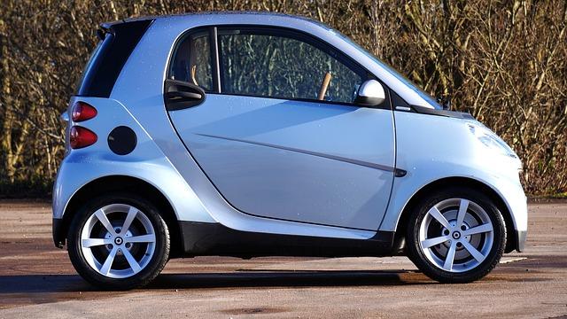 Car, Smart Car, Wheels