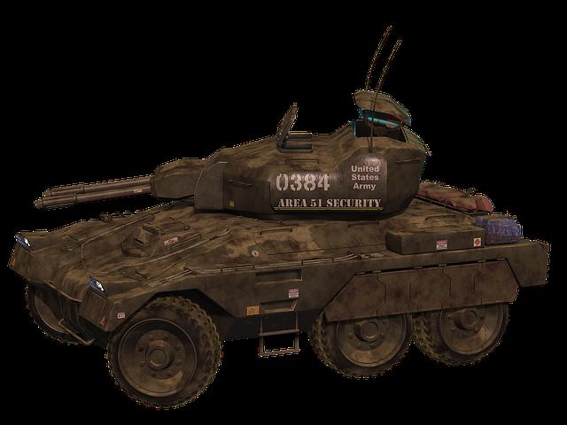 Armored, The Military, Car, The Vehicle, Militaria