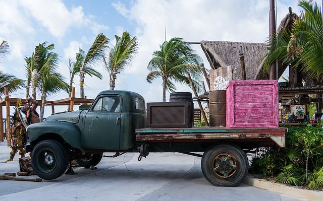 Antique Truck, Vehicle, Car, Transportation System