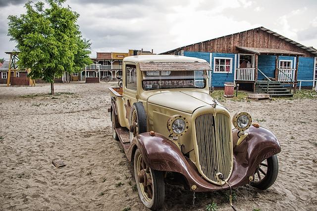 Car, Old Car, Antique Car, Veteran Car, Style