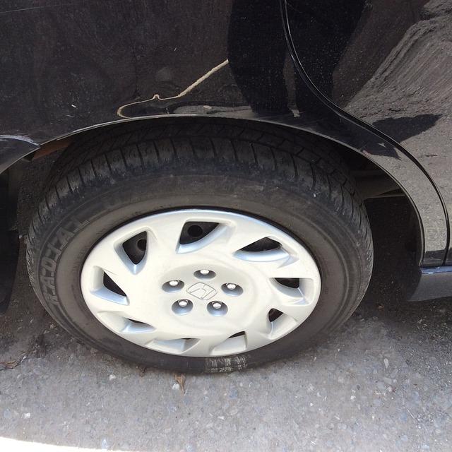Car Wheel, Hubcap, Tire, Maintenance