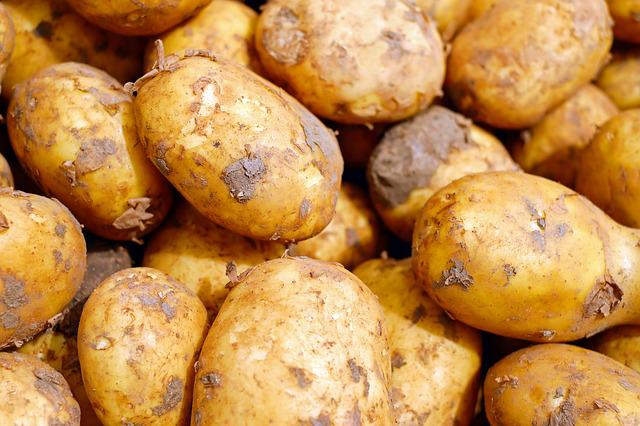 Potatoes, Vegetables, Erdfrucht, Food, Carbohydrates