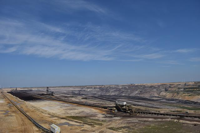 Open Pit Mining, Carbon, Wasteland, End Time, Barren