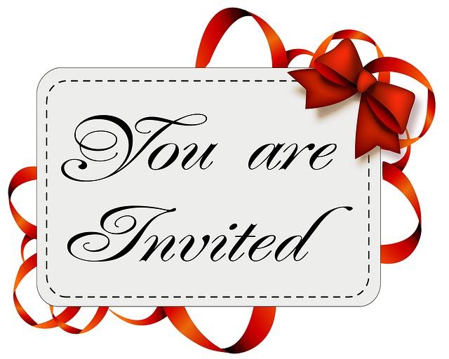 Card, Invitation, Invitation Card, Blank, Message