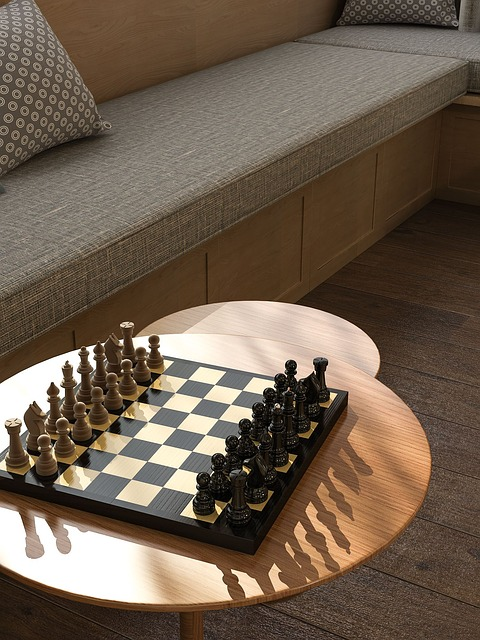 Tables, Chess Board, Card Connector