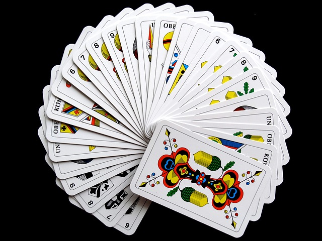 Cards, Jass Cards, Card Game, Strategy, Play, Place