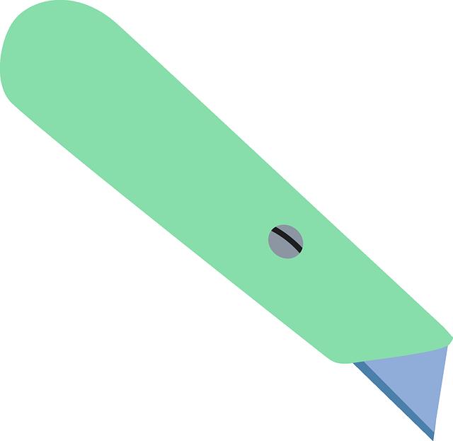 box cutter cardboard cutter carpet cutter
