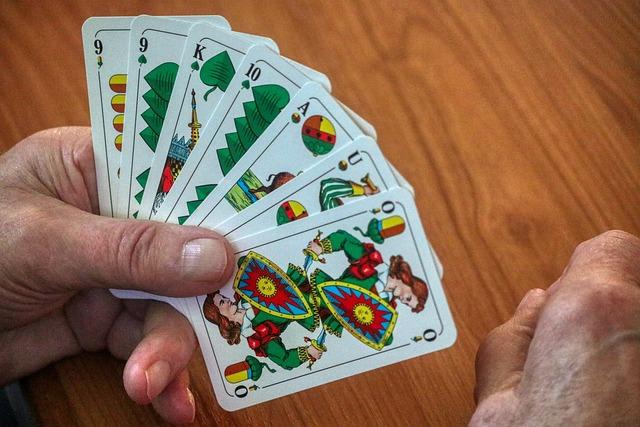 Cards, Map Sheet, Bavaria, Schafkopf Card, Stammtisch
