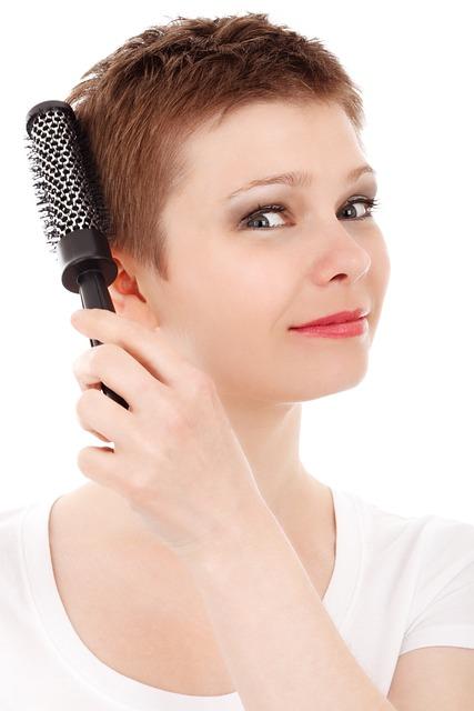 Adult, Brush, Care, Face, Female, Girl, Hair, Hairbrush