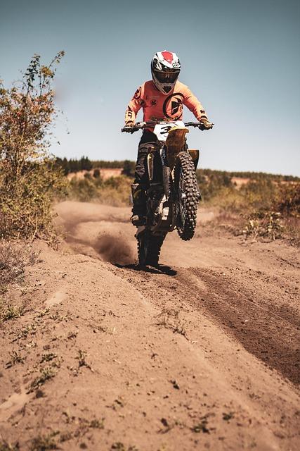 Moto, Motocross, Motorcycle, End, Career, Speed, Helmet