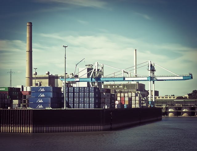 Port, Container, Container Terminal, Shipping, Cargo