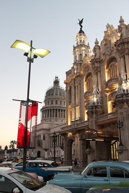 Capitol, Cuba, Havana, Architecture, Caribbean, Travel