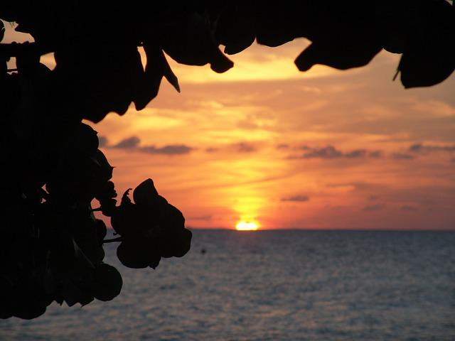 Sunset, Jamaica, Caribbean, Tropics, Exotic, Summer