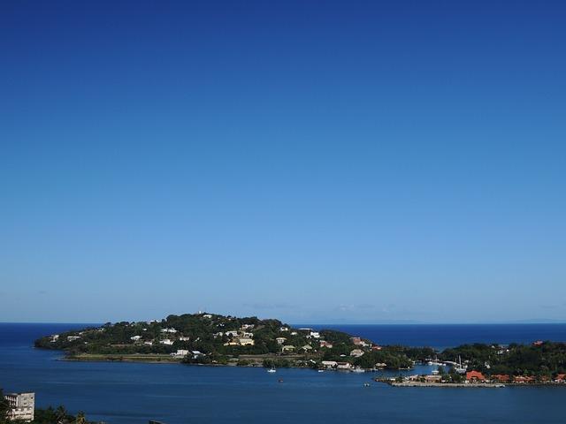 St Lucia, Caribbean Island, Saint Lucia, Sea, Blue