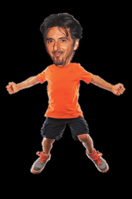 Celebrity, Caricature, Al Pacino