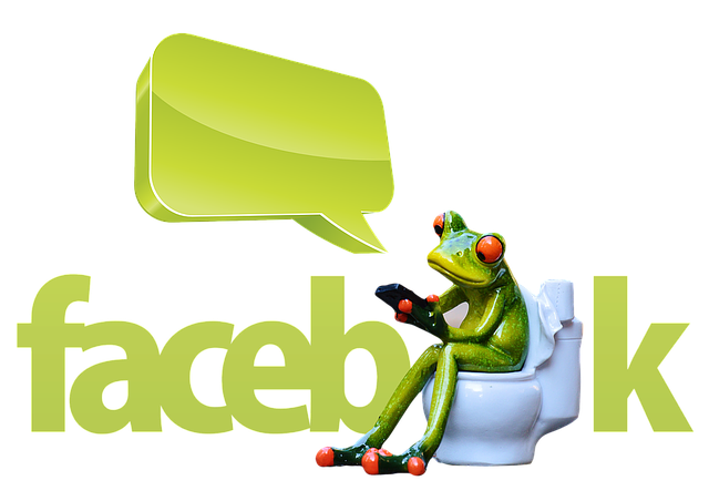 Frog, Mobile Phone, Facebook, Satire, Caricature, Joke