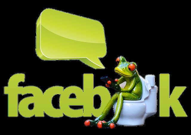 Frog, Mobile Phone, Facebook, Satire, Caricature, Joke