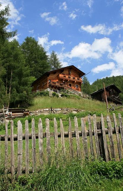 Mountain Farm, Vacation, Apriach, Carinthia, Alpine