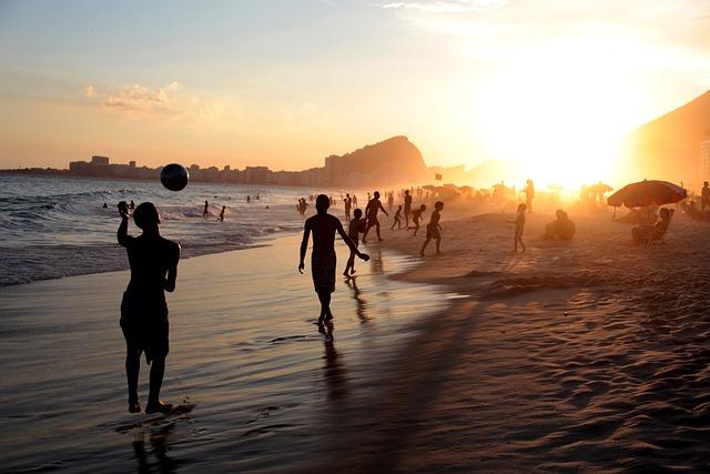 Rio, Brasil, Brazil, Copacabana, Summer, Beach, Carioca
