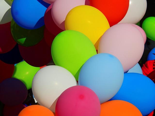 Balloon, Party, Carnival, Move, Sky