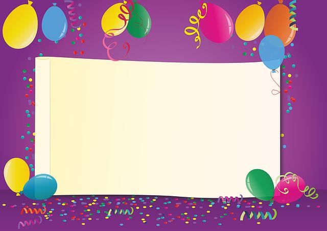 Carnival, Kids Party, Balloons, Birthday, Ballons