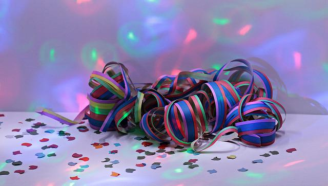 Streamer, Carnival, Party, Colorful, Fun, Deco