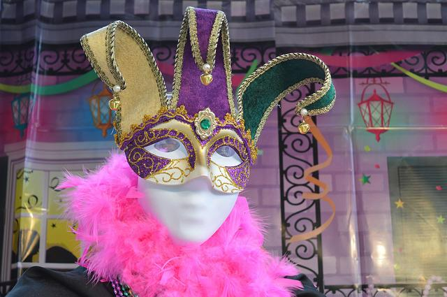 Mardi Gras, Mask, Carnival, Disguise, Festival