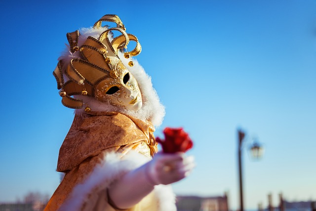 Mask, Girl, Masquerade, Carnival, Holiday, Fun