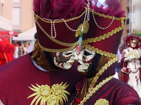 Mask Of Venice, Carnival Of Venice, Masks