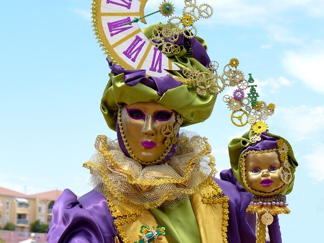 Masks Of Venice, Masks, Carnival Of Venice