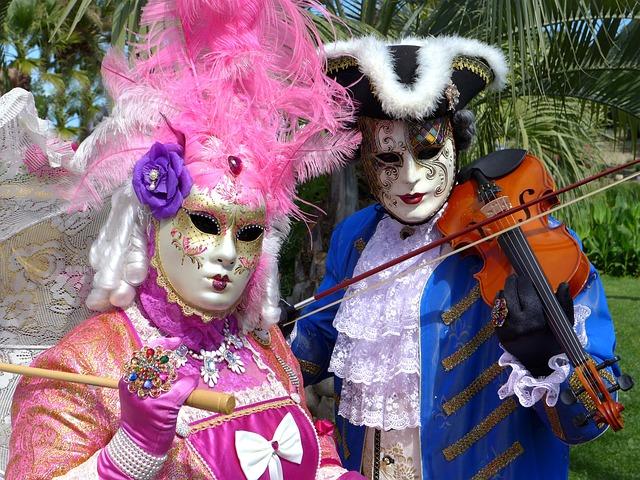 Venice, Mask Of Venice, Carnival Of Venice