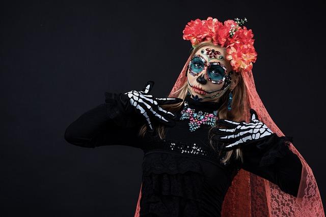 Carnival, Skull, Dead, Mexico, Festival