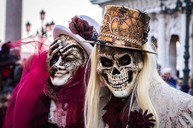 Venice, Carnevale, Costume, Carnival, Venetian