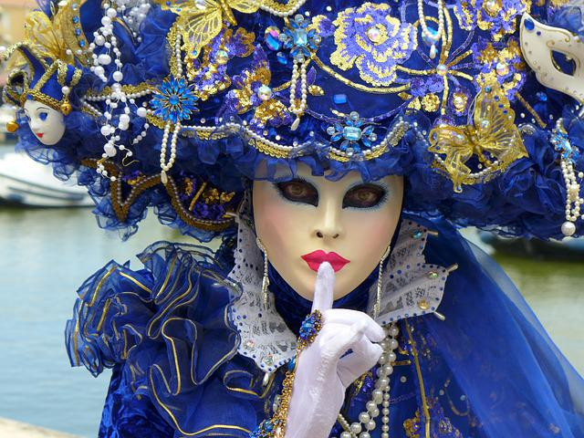Carnival Venice, Masks, Mask Of Venice