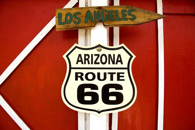 Route 66, Seligman, Arizona, Usa, Carol M Highsmith