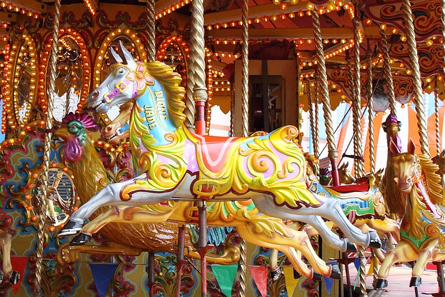 Amuse, Amusement, Bright, Carnival, Carousel, Childhood