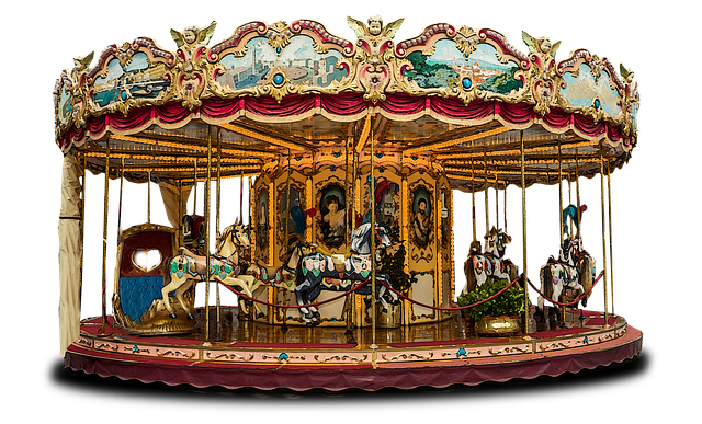 Carousel, Merry Go Round, Fun, Ride, Amusement, Park